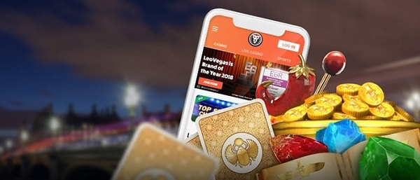Leo Vegas slots and table games
