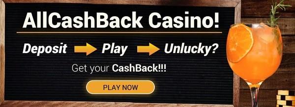All Cash Back Bonus