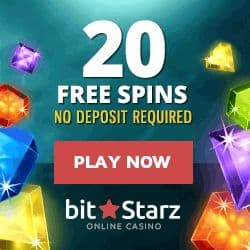 Bitstarz 20 free spins on registration, no deposit bonus!