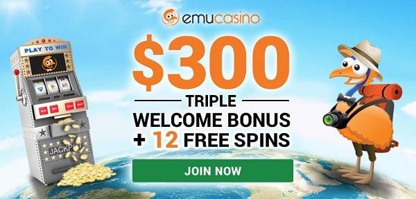 Emu $300 bonus