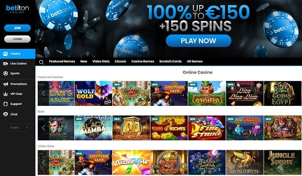 Betiton Casino and Sportsbook Review