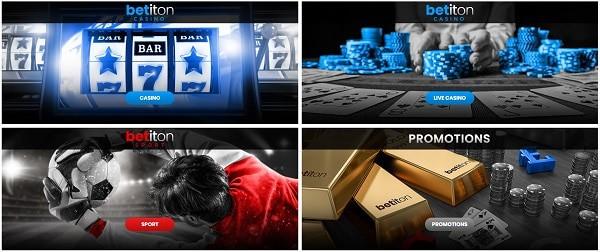 Bet It On promotions, casino games, sportsbook, VIP rewards