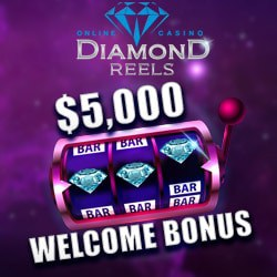 175 free spins and $5,000 welcome bonus