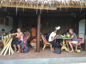 The breakfast yogi crowd at Yellow Flower Cafe, Penestanan, Ubud