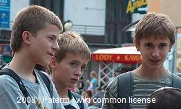 Teens 2008 by Paterm Wikimedia Common License