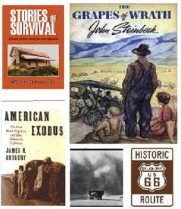 Grapes of Wrath collage