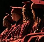 graduation ceremony by Slick-o-bot from wikimedia commons