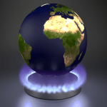 Earth_On_Stove_ by Lesserland shared through wikimedia commons