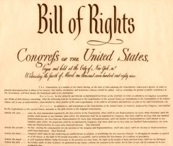 US bill of rights public domain