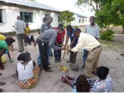 Peace corp volunteer Marti in Zambia