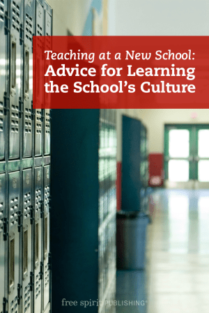 Advice for Learning a New School's Culture