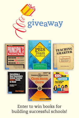 Giveaway: Books for Building Successful Schools