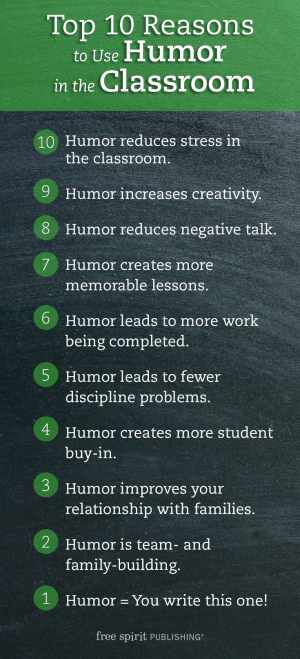 10 Reasons to Use Humor in the Classroom