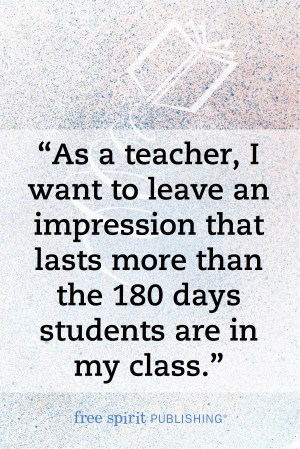 Shannon Anderson Quote for Teachers