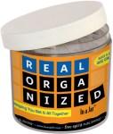 Real Organized In a Jar
