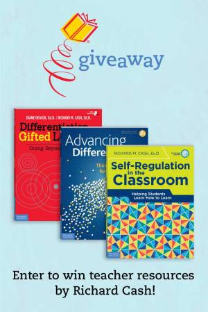 Enter to win teacher resources by Richard Cash!