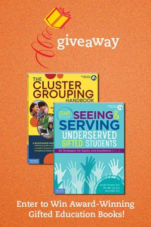 Enter to Win Award-Winning Gifted Education Books