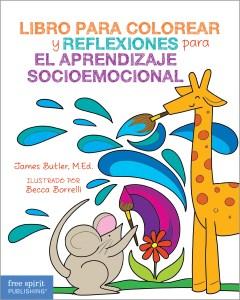 Libro para colorear y reflexiones para el aprendizaje socioemocional