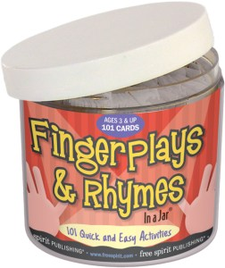 Fingerplays & Rhymes In a Jar