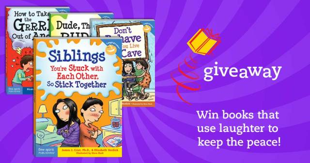 Win books that use laughter to keep the peace!