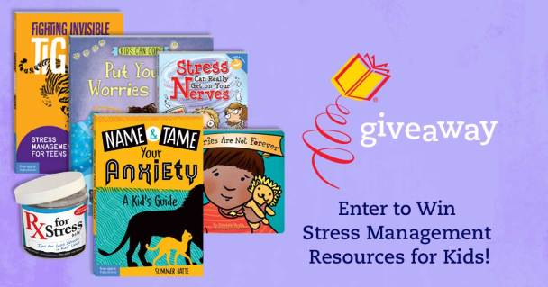 Win stress management resources for kids!