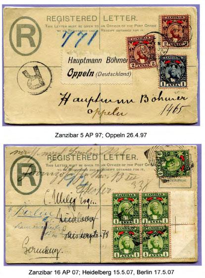 Zanzibar letters