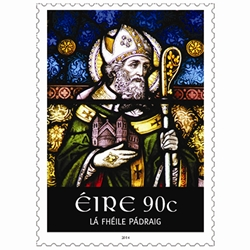 Ireland Saint Patricks Day stamp 2014 large