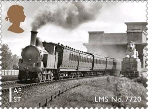 LMS No7720 posttage stamp