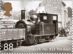 W&LLR No822 The Earl postage stamp