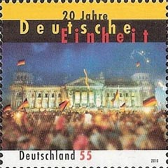 Stamp Germany Reichsdag