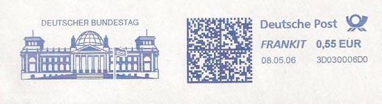 Reichsdag Deutsche Post