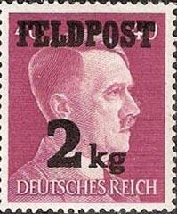 Adolf Hitler stamp