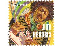 Jimi Hendrix stamp USA