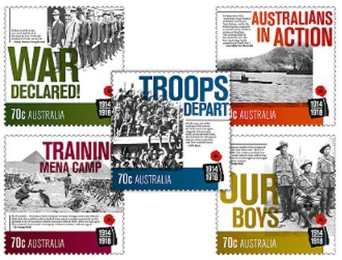 WWI-stamps-Australia-2014-