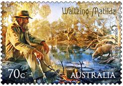 Walzing-Mathilda-Stamp