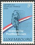 Tour The France Stamp Luxemburg