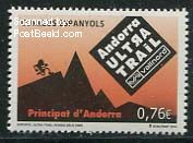 Spanish Andorra stamp