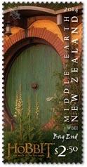 Bag End Stamp New Zealand