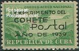 Cuba 1939, Rocket Post stamp