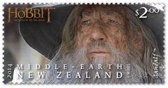 Gandalf Stamp New Zealand