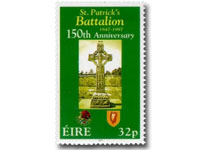 St Patricks battalion postage stamp Ireland