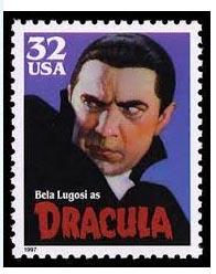 Stamp Bela Lugosi USA
