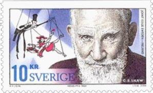 Stamp George Bernard Shaw