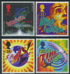 stamps HG-Welsh-Time-Machine