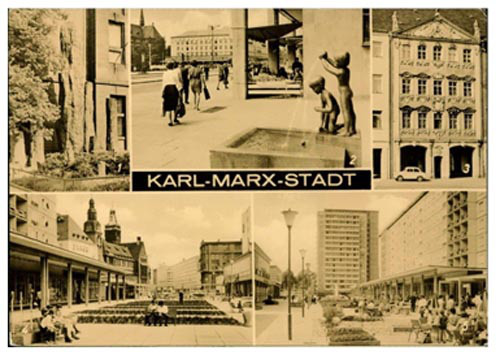 Postcard from Karl-Marx-Stadt