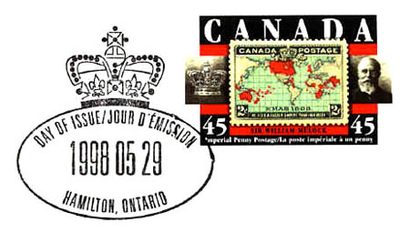 Canada first day of issue