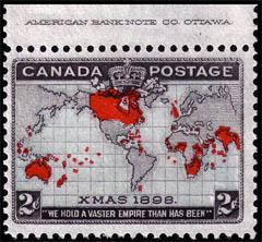 first christmas stamp