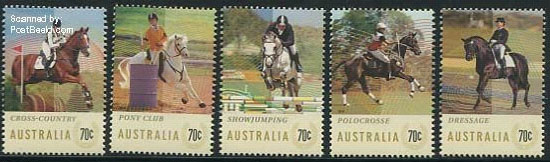 Horse stamps Australia