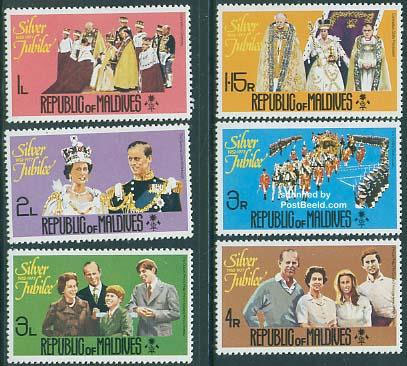 Ugly Queen Elisabeth stamps
