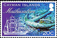 Mathusalem stamp
